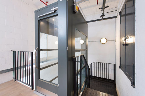 Lift Inside A Staircase For Zetland House Invalifts